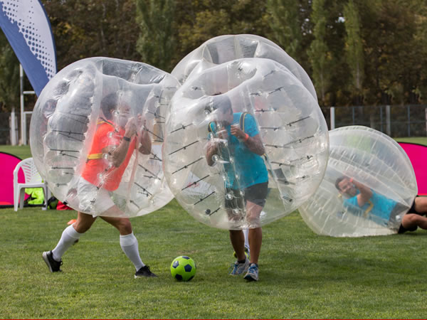 Bubble Football Torquay North, Devon