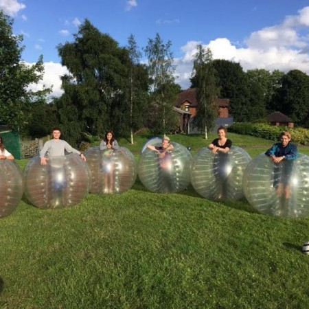 Bubble Football Lea Marston, Worcestershire