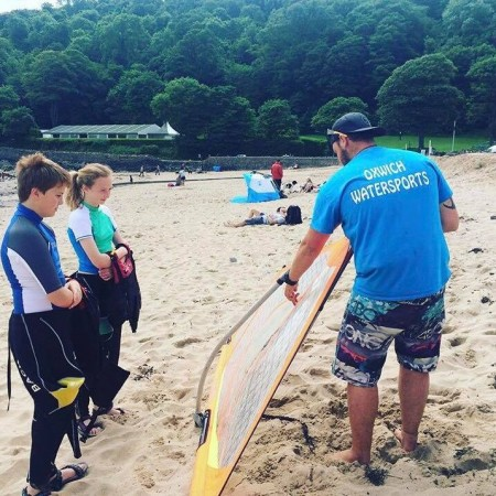 Stand Up Paddle Boarding (SUP) Oxwich, Swansea