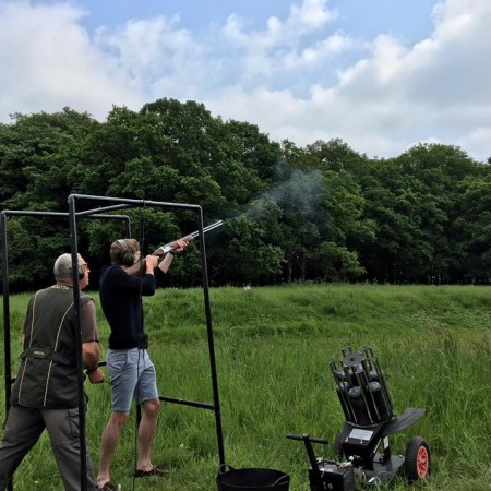 Clay Pigeon Shooting Thetford, Norfolk