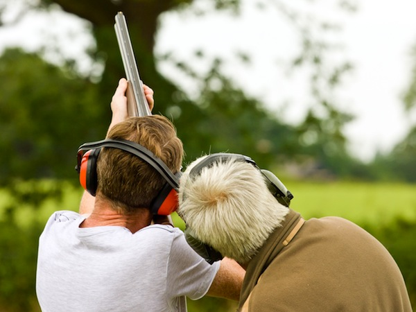Clay Pigeon Shooting Sutton At Hone, Kent, Kent